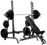 SDIB370  BODY SOLID FID  BENCH RACK COMBO