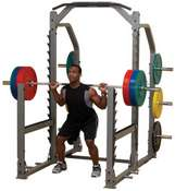SMRI1000  PRO CLUB-LINE  MULTI SQUAT RACK