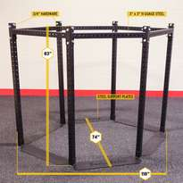 SR-HEX EXT HEXAGON EXPANSION RIG BASE FRAME 83' TALL