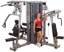 4 STACK MULTI GYM DGYM BASE FRAME FOR PRO-DUAL  4 STACK MODULAR GYM SYSTEM (CENTER FRAME AND SHROUDS
