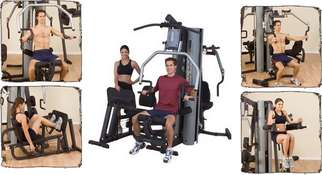 Commercial Multi Stack Gyms ' � G9S BODYSOLID MULTI GYM