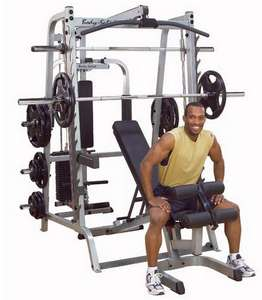 Bodysolid Series 7  Smith Gym System GS348QP4