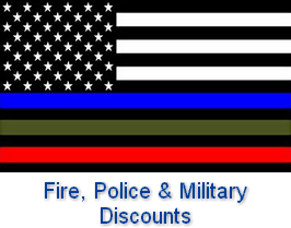 Fire, Police and Military Discounts