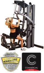 F600 BI-ANGULAR PRESS FUSION PERSONAL TRAINER  210LB STACK