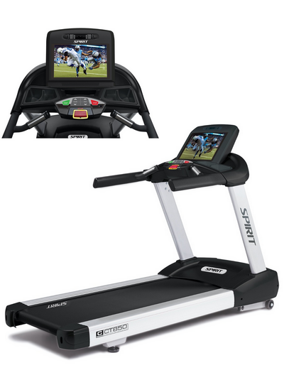 SPIRIT FITNESS CT850-ENT COMMERCIAL TREADMILL