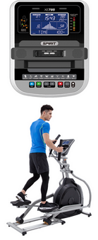 SPIRIT FITNESS XE795  ELLIPTICAL LT. COMMERCIAL