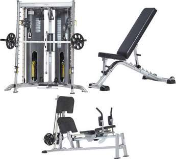 Tuff Stuff HOME GYMS / MULTI-GYMS, LIGHT COMMERCIAL, FUNCTIONAL TRAINERS, SMITH MACHINES  and   BENCHES, RACKS, PLATE LOADED MACHINES