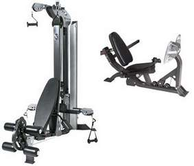 Used Equipment -  HOIST HV-2 WITH LEG PRESS OPTION MULTI GYM