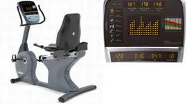 VISION FITNESS COMMERCIAL RECUMBENT BIKE
